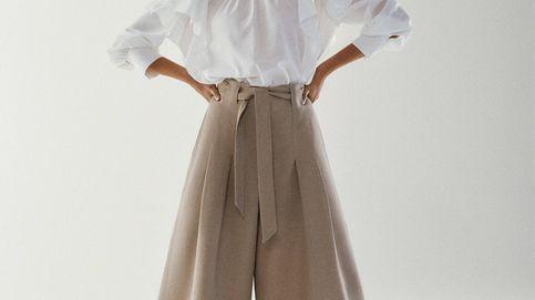 El pantalón ancho, fresco y elegante de Massimo Dutti que no podrás evitar amar