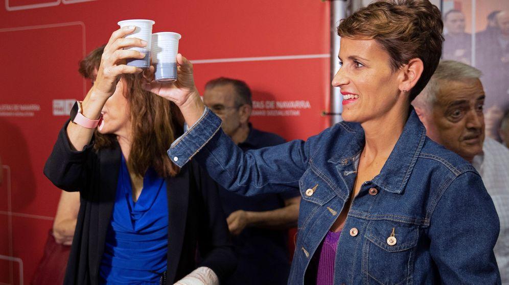 Foto: La secretaria general del PSN y candidata a presidir Navarra, María Chivite. (EFE)