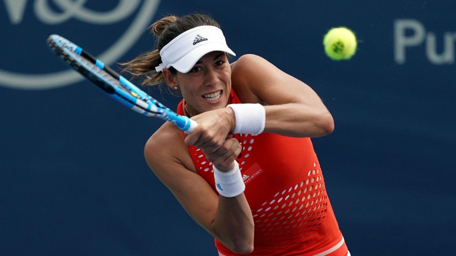 Foto: Garbiñe Muguruza nunca ha pasado de los octavos de final en el US Open. (USA TODAY Sports)