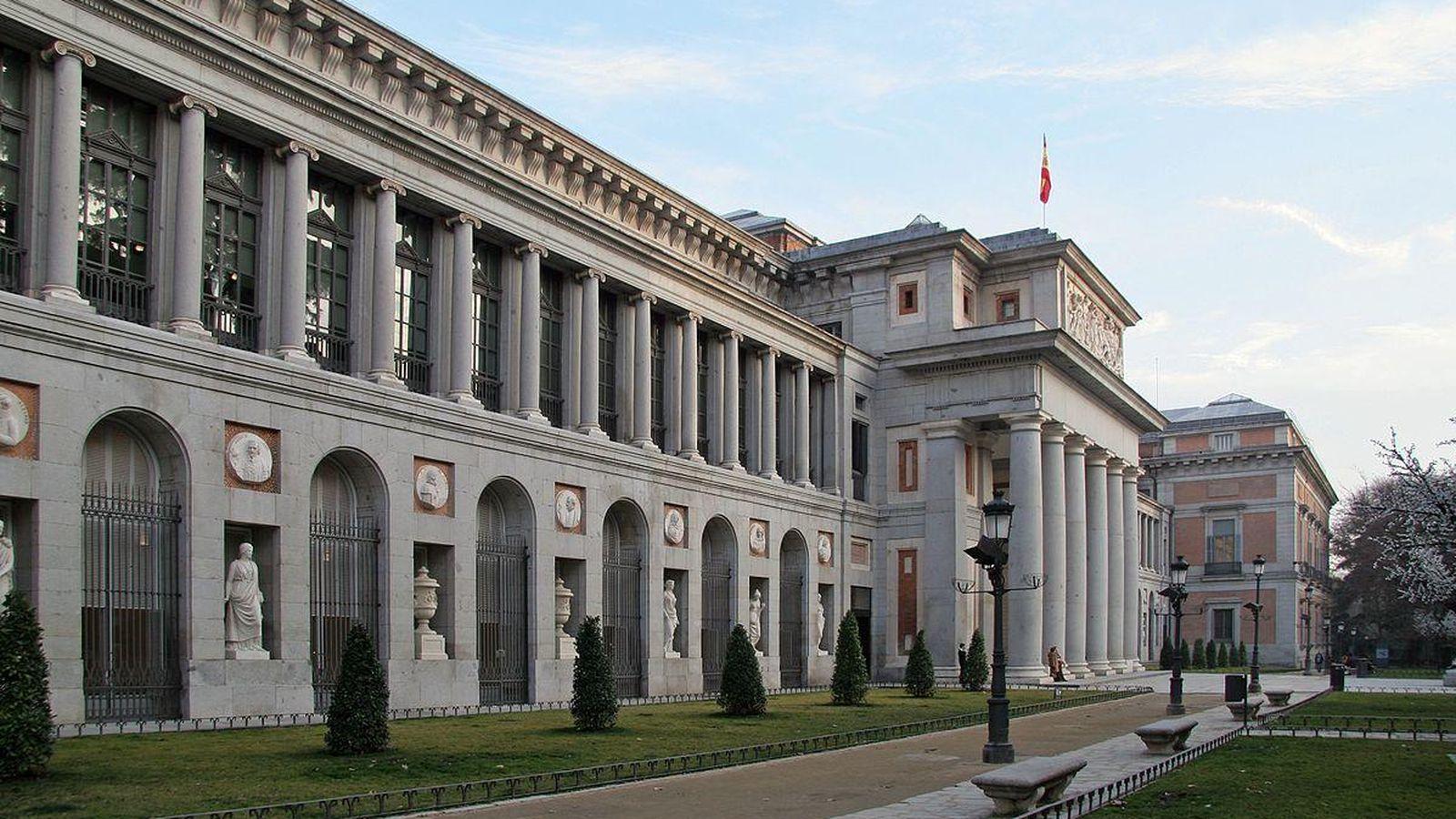 Foto: Fachada del Museo del Prado, Madrid (CC/Brian Snelson)