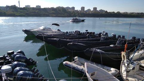 Detenidos tres españoles en Gibraltar por llevar 1,5 toneladas de hachís en 'narcolancha'