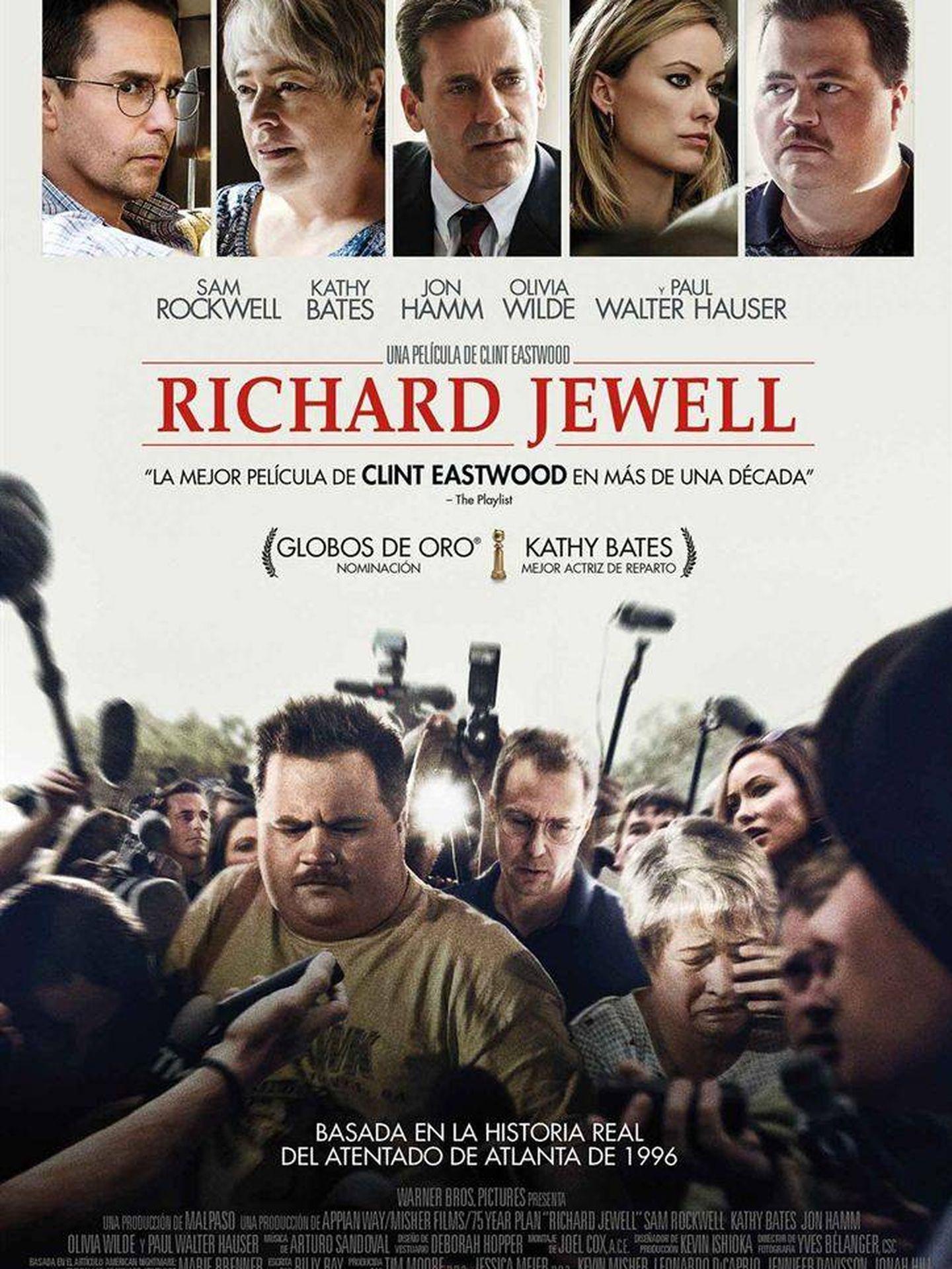 Cartel de 'Richard Jewell'.