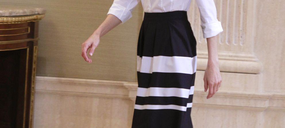 Foto: La princesa Letizia recibe en audiencia a tres organizaciones en el Palacio de la Zarzuela (Gtres)