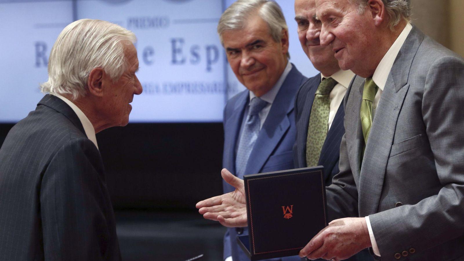 Foto: Enrique Sendagorta recibió el premio Reino de España a su trayectoria en 2014. (EFE)