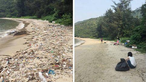 El 'Trashtag Challenge', el reto que está limpiando las playas de medio mundo