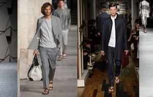¿Te pondrías el traje con sandalias?