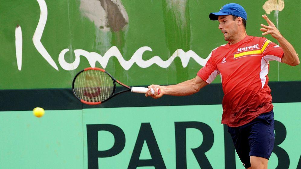 Foto: Bautista, entrenándose en Marbella. (EFE)