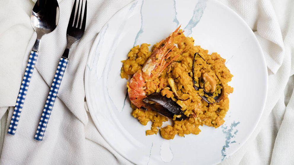 Paella de marisco, una receta con color y mucho sabor