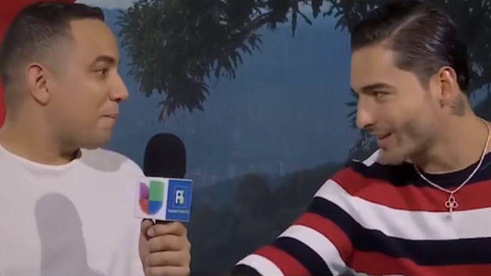 Maluma planta cabreado a un periodista en plena entrevista