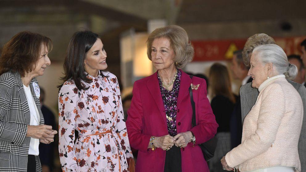 Letizia y Sofía: las dos Reinas inauguran el rastrillo de Nuevo Futuro