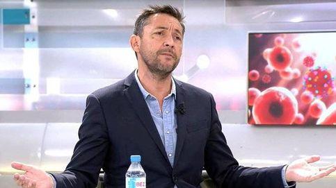 Tensión entre Javier Ruiz y María Claver en Telecinco por el coronavirus y la inmigración: No hagas populismo
