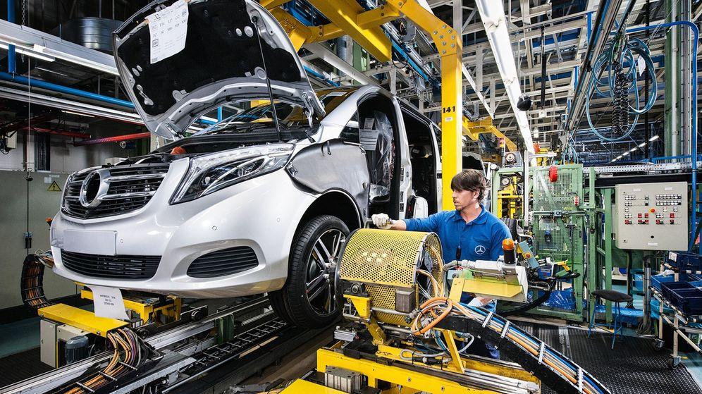 Foto: Fábrica de Mercedes en Vitoria.