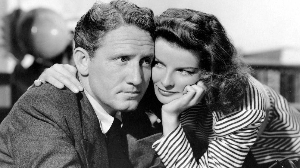 Foto: Spencer Tracy y Katharine Hepburn. (Cordon Press)