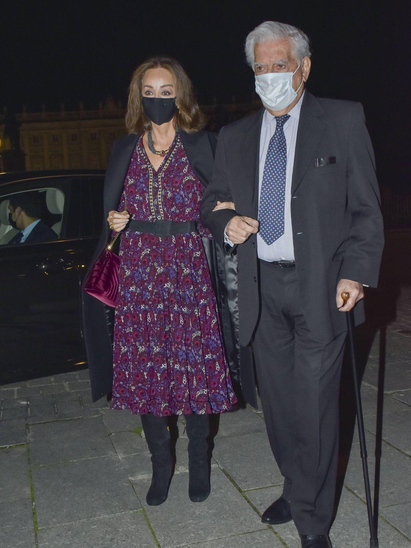 Mario Vargas Llosa e Isabel Preysler. (CP)