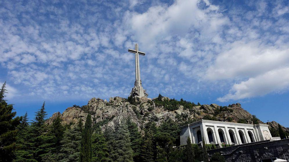 Foto: Vista general del Valle de los Caídos. (EFE)