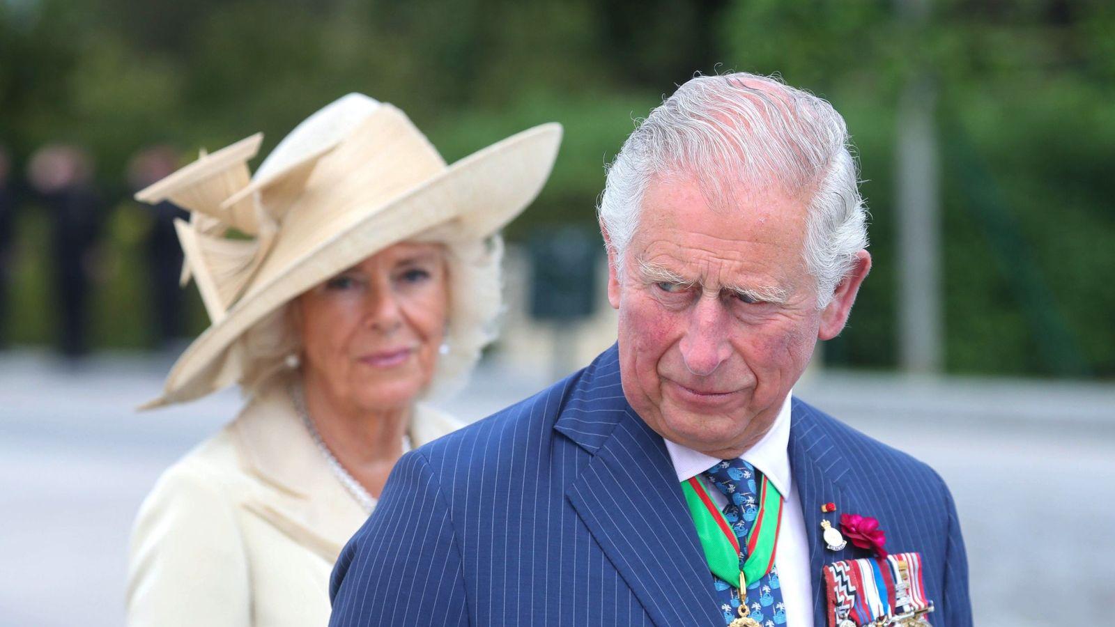 Foto: El príncipe Carlos y Camilla en una imagen de archivo. (EFE)