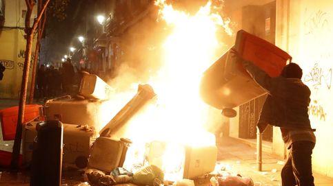 Disturbios entre vecinos y policía en Lavapiés tras la muerte de un mantero