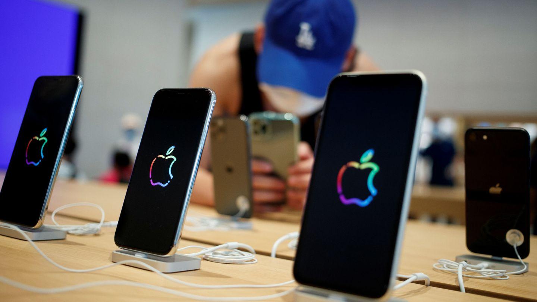La nueva flagship de Apple en Pekín. (Efe)
