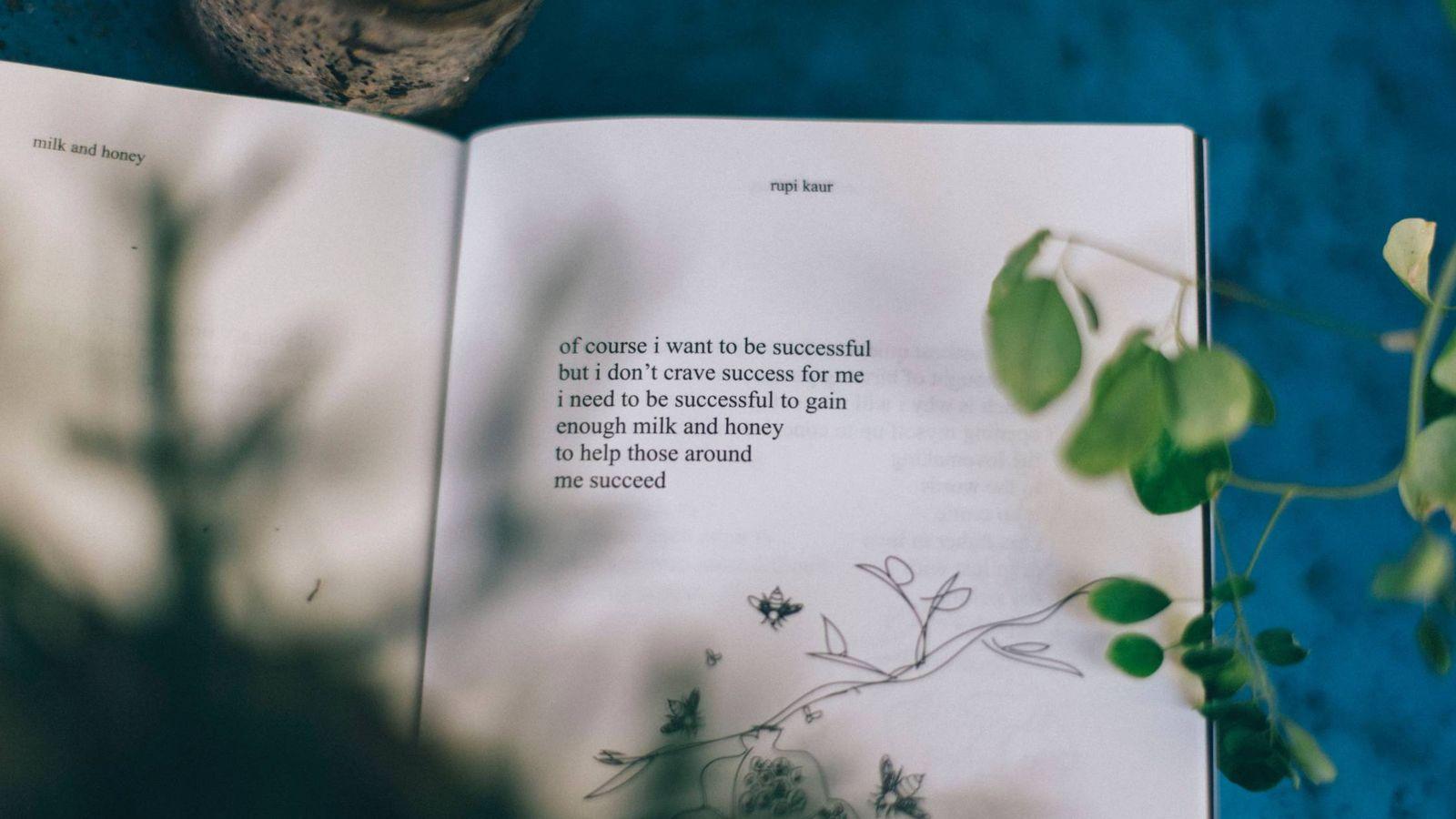 Foto: Poema de Rupi Kaur