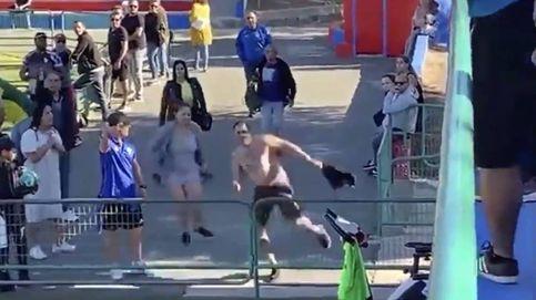 Un padre intenta agredir al árbitro en un partido de niños de ocho años