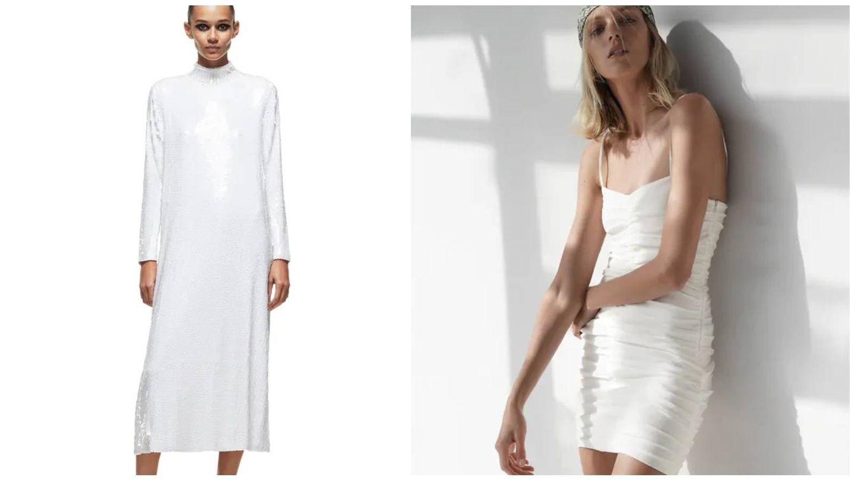 Vestidos de Zara para novias atrevidas. (Cortesía)