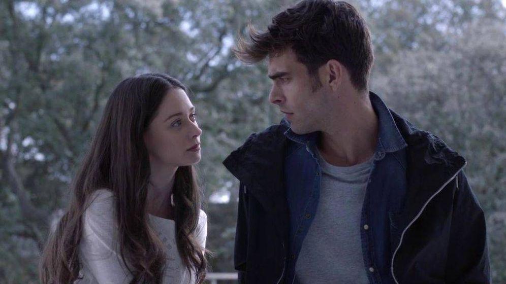Foto: Paula y Eguía en el cuarto episodio de 'La verdad'. (Telecinco)