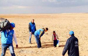 La historia de Marwan, el niño de 4 años que atravesó 'solo' el desierto