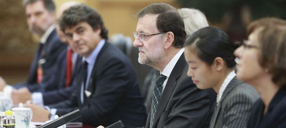 Foto: El presidente del Gobierno español, Mariano Rajoy, durante su viaje a China (EFE)