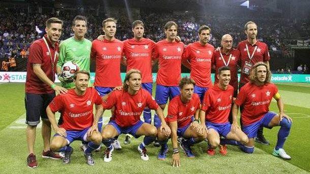 Foto: La selección española que participa en el Star Sixes que se disputa en Londres