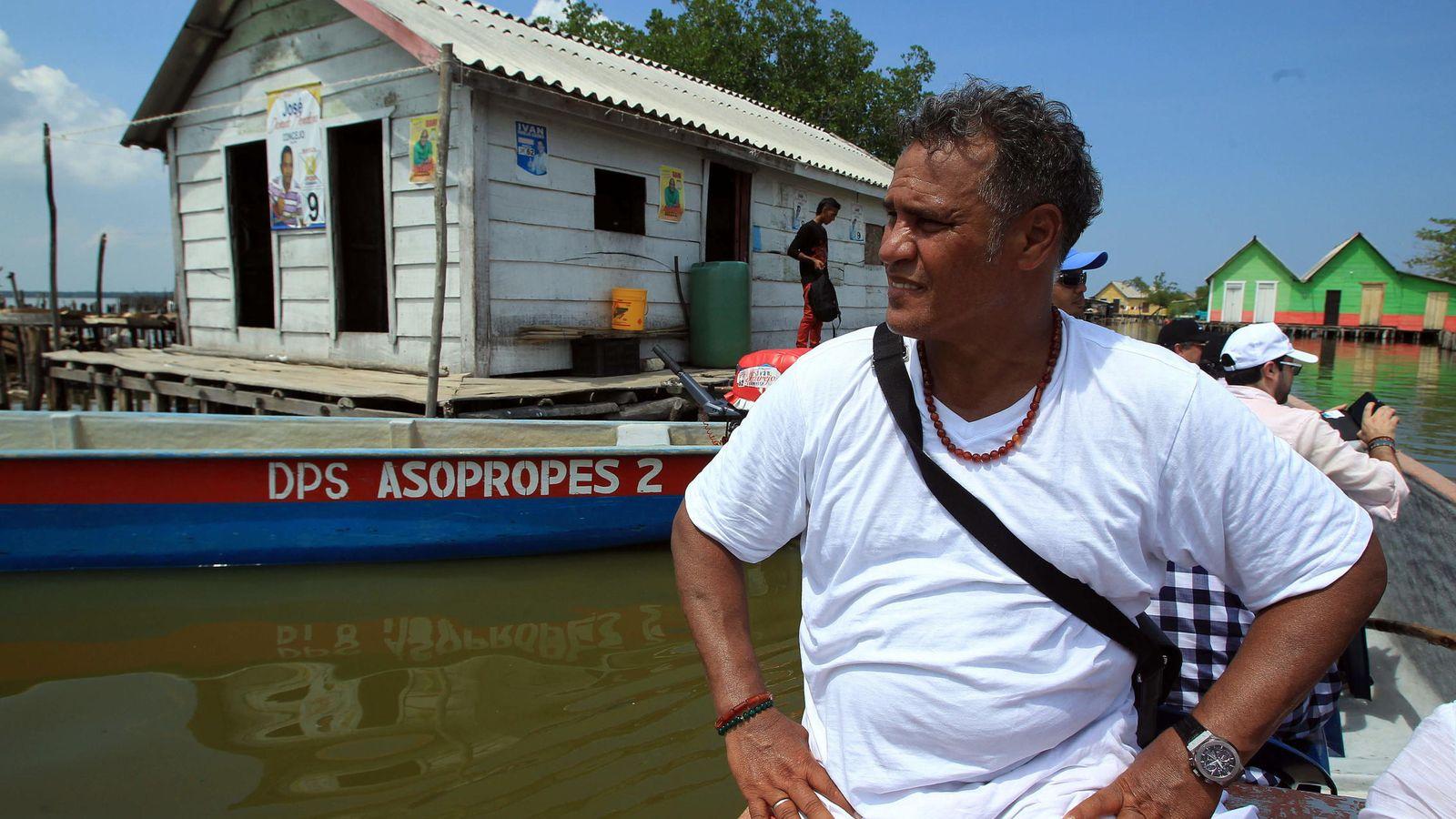 Foto: El padre de Radamel Falcao. (EFE)