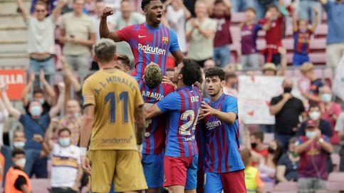 El Camp Nou se rinde ante Ansu Fati en su regreso soñado con el '10' de Messi (3-0)