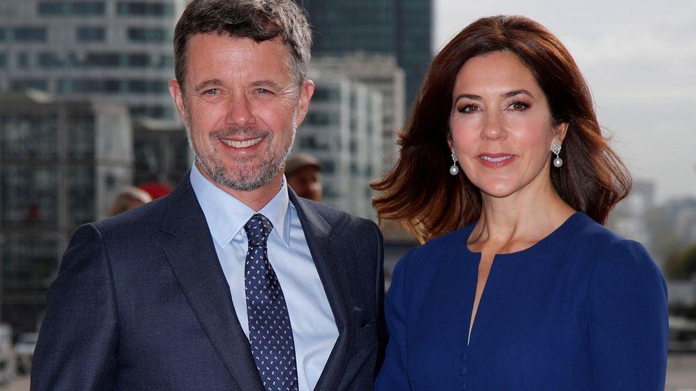 Foto: Federico y Mary de Dinamarca, durante su última visita a París. (Reuters)