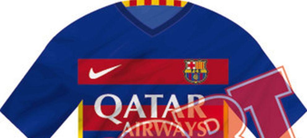 Así serán las próximas equipaciones del Barcelona de cara a la próxima  temporada. ad586b58119