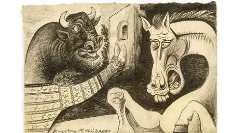 Triple exposición de Picasso en Francia