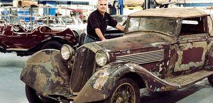 Post de Entramos en el taller de Paul Rusell, el mago de la restauración de coches