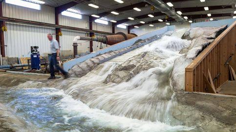 Un prodigio de la ingeniería en miniatura para salvar la presa más alta de EEUU