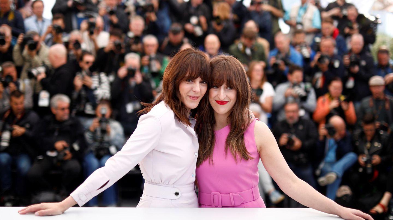 Chokri y Bossé en la presentación de 'La mujer de mi hermano' en Cannes. (Efe)