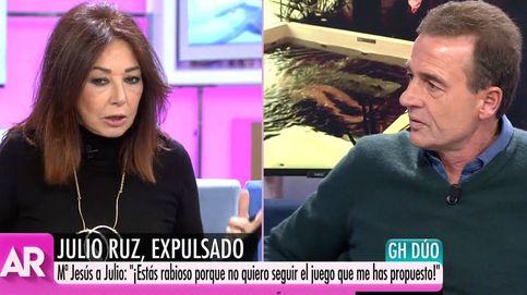 Ana Rosa increpa a Lequio por creer excesiva la expulsión de Julio Ruz