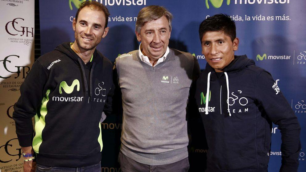 Quintana y Valverde lideran el equipo del Movistar para el Tour de Francia