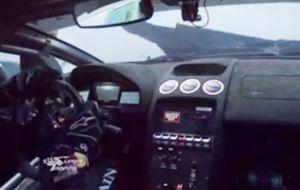 Adrian Newey, el cerebro de Red Bull, destroza un Lamborghini
