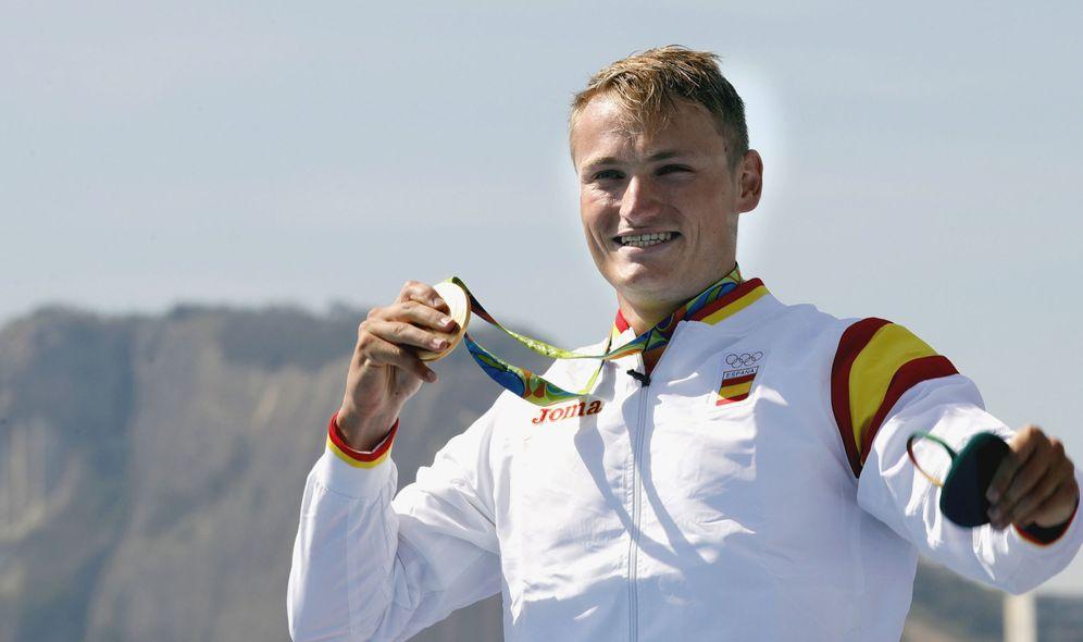 Foto: Marcus Cooper Walz ganó una medalla de oro que nadie esperaba. (EFE)