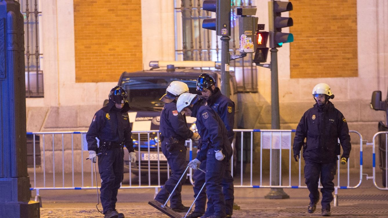 Varios heridos leves, un apuñalado y una muerte natural durante la Nochevieja de Madrid