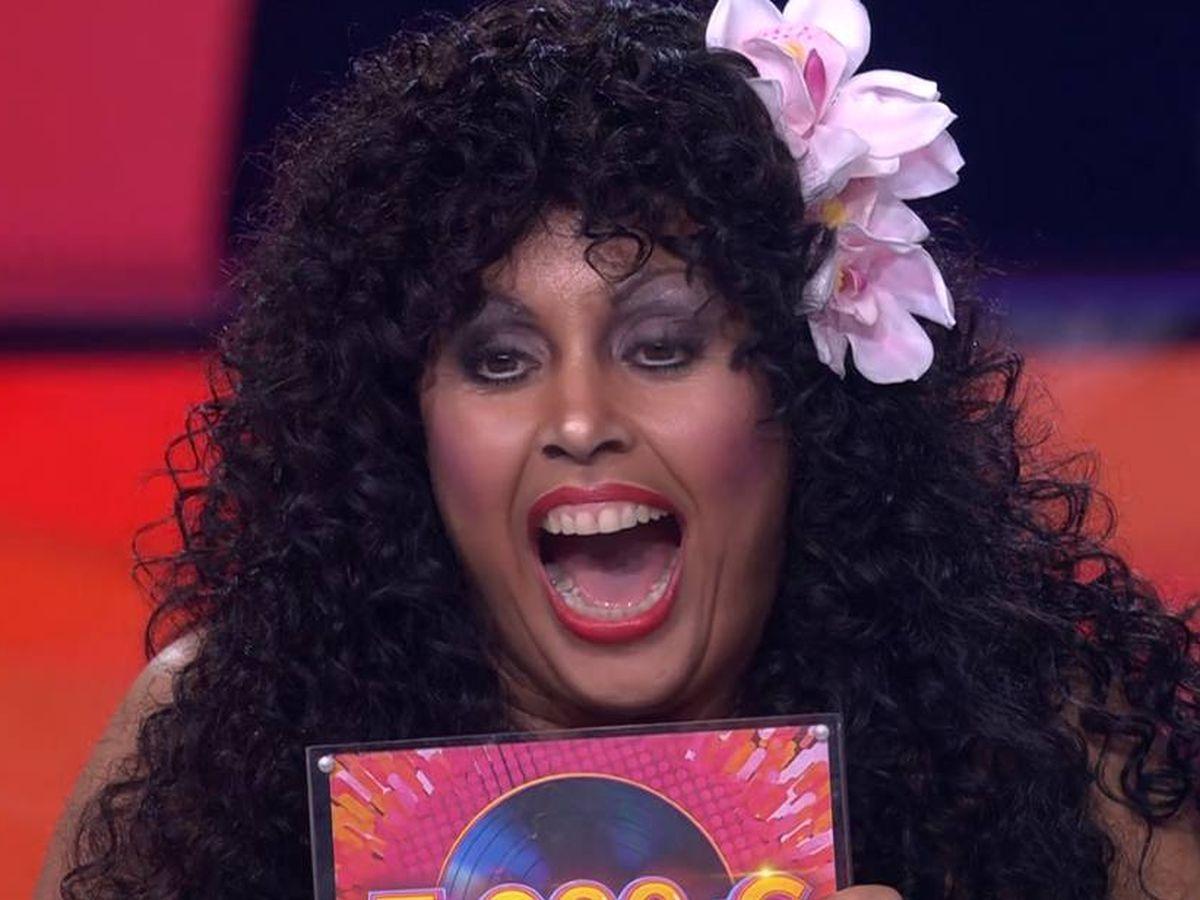 Foto: Cristina Ramos, ganadora de la tercera gala de 'Tu cara me suena'. (Antena 3)