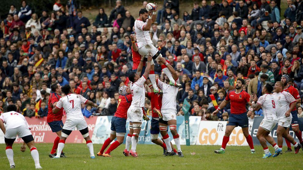 El rugby español clama por jugar ya en un estadio tras un 'llenazo' contra Tonga