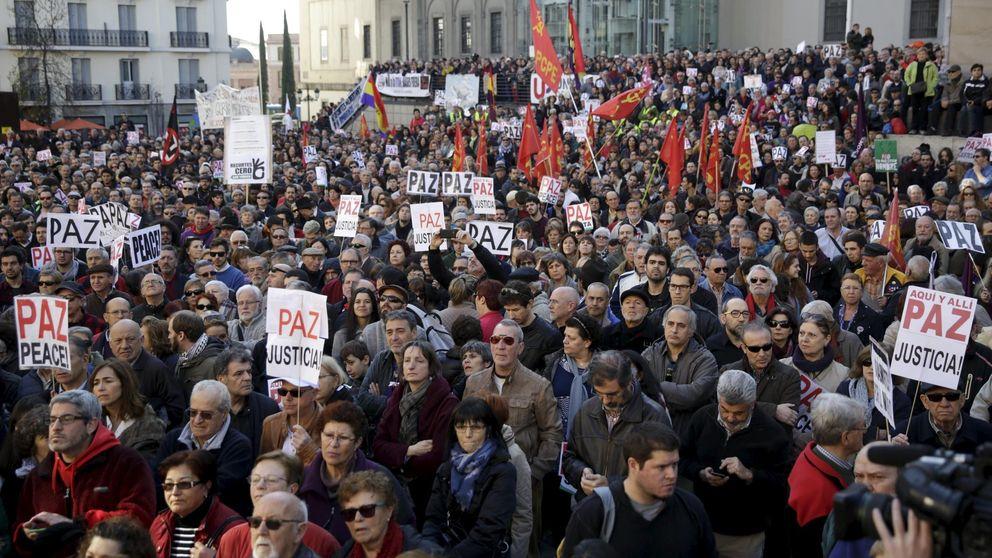 El 'No a la guerra' saca a cientos de personas, no a primeros espadas