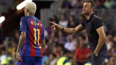 Luis Enrique, seguro de que a Neymar no le afectará el palo de la Audiencia