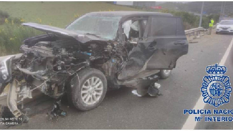 'Fast & Furious' en la Costa del Sol: espectacular persecución a ladrones de coches