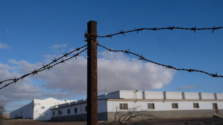 Foto: Centro de Internamiento de Extranjeros (CIE) de El Matorral, en Puerto del Rosario (Fuerteventura) (EFE)