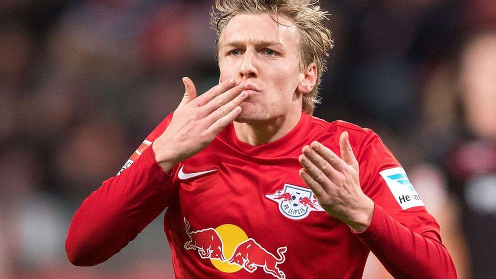 Forsberg, la estrella solidaria del pujante RB Leipzig y de la Bundesliga  alemana