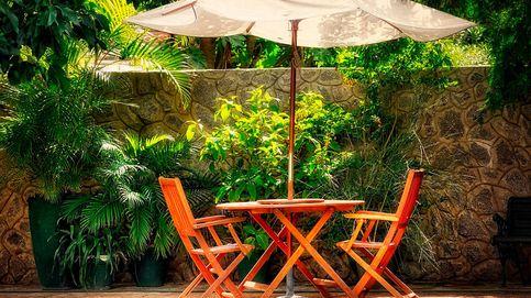 Sombrillas y toldos para protegerse del sol en el jardín o la terraza